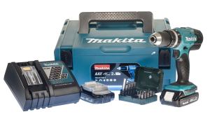 Makita DHP 453 RYJ photo coffret