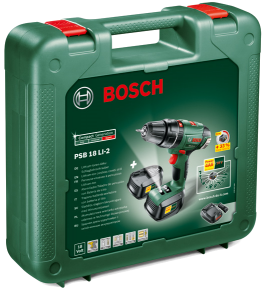 Perceuse visseuse Bosch PSB coffret de transport