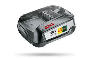 Bosch batterie Power4All 18V 2.5Ah