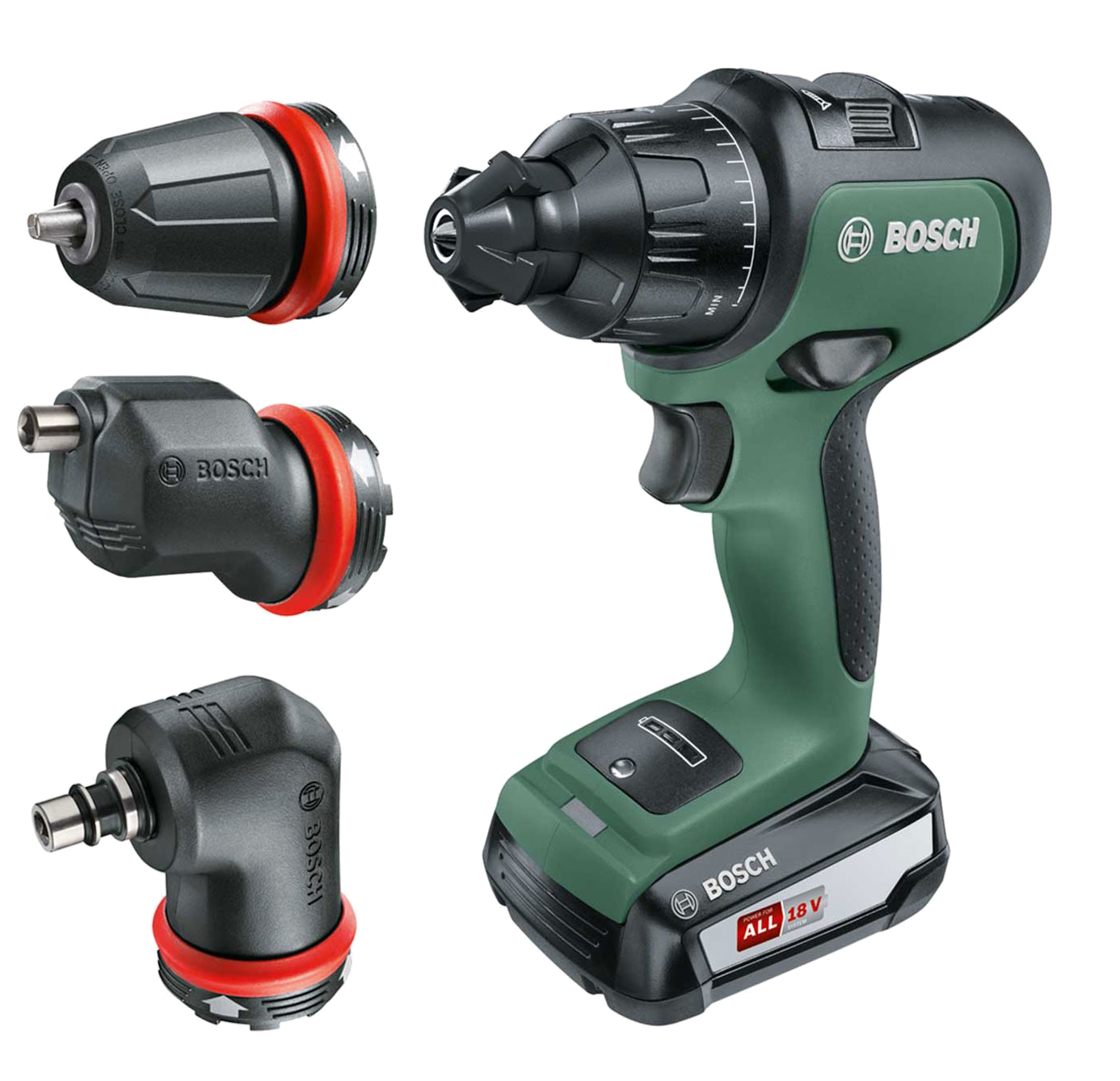 Nouvelle Perceuse visseuse Bosch AdvancedImpact 18